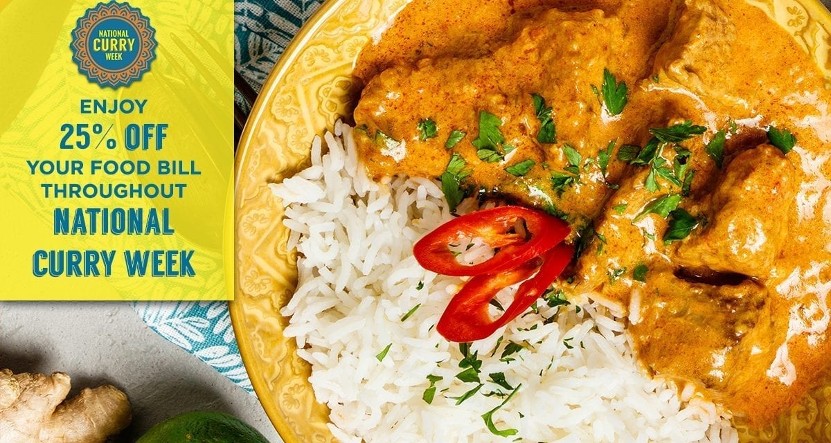 National Curry week is here