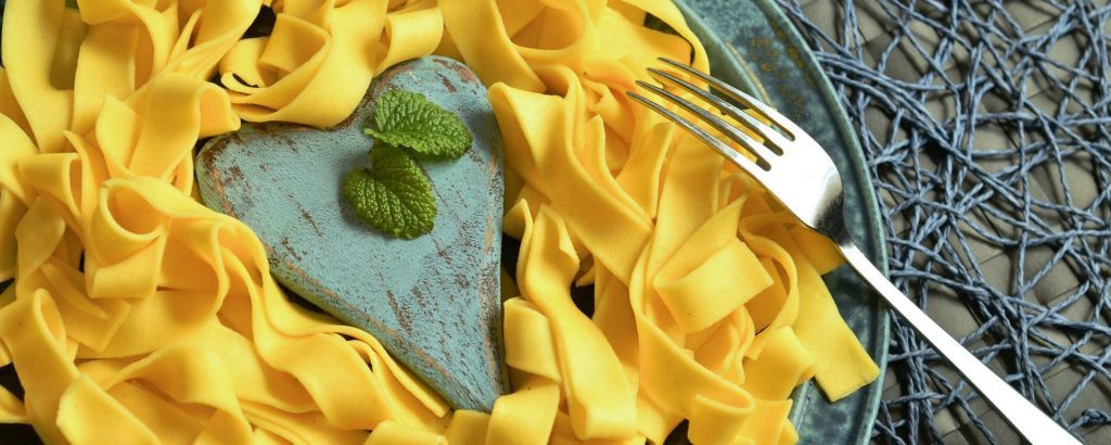 Curried Italian Tagliatelle