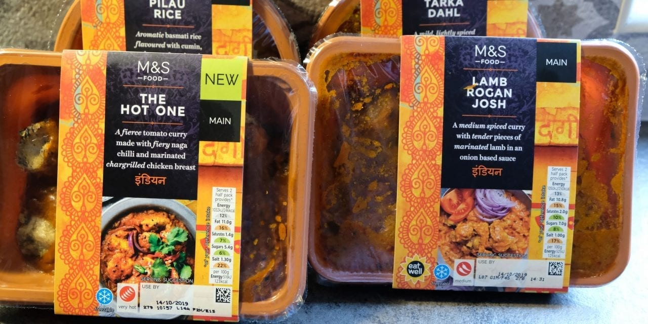 M&S Curry – What's it like?