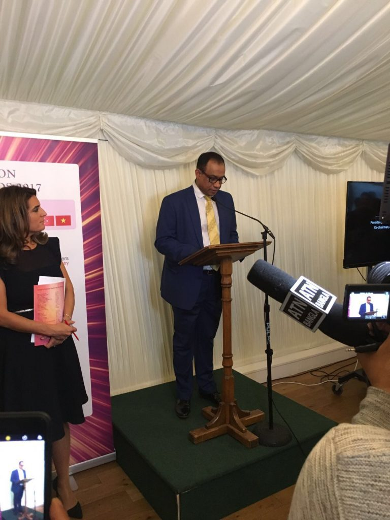 UK's Top 30 Asian & Oriental Chefs are feted at House of Commons