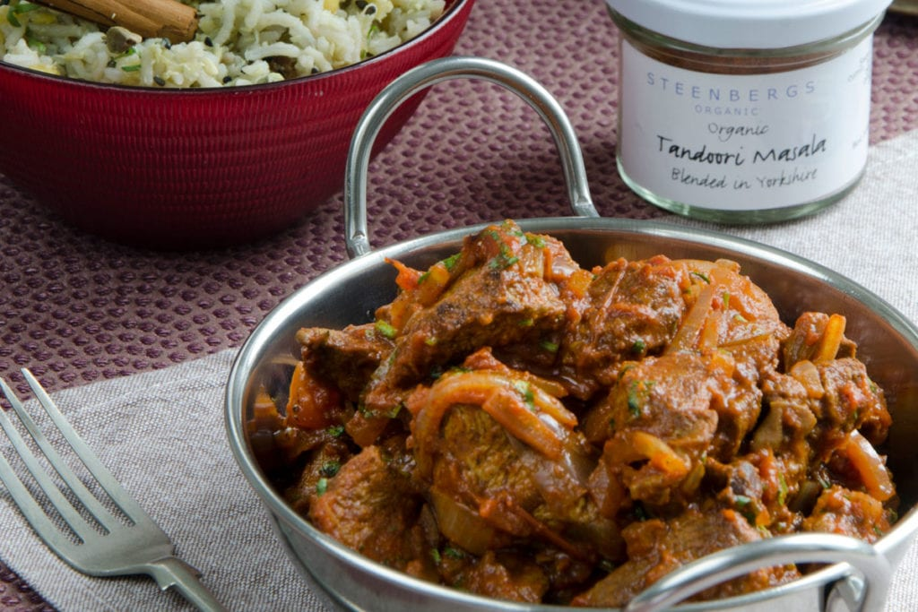 Tandoori Lamb Curry