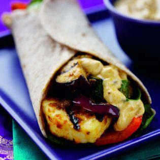 Masala Chicken Wrap recipe