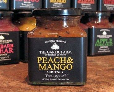 The Garlic Farm Peach & Mango Chutney