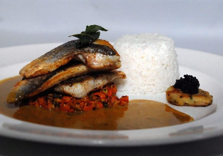 Indian style Sea Bass