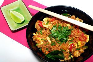 Thai red curry fried rice recipe