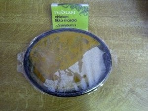 Chicken tikka masala by Sainsbury's