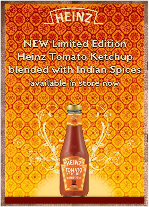 Heinz adds a touch of India to its traditional Tomato Ketchup